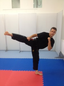Martin Fischer im Training